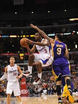 Chris Paul foi o cestinha do Los Angeles Clippers com 33 pontos para cima do Lakers
