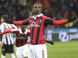 Balotelli, atacante do Milan