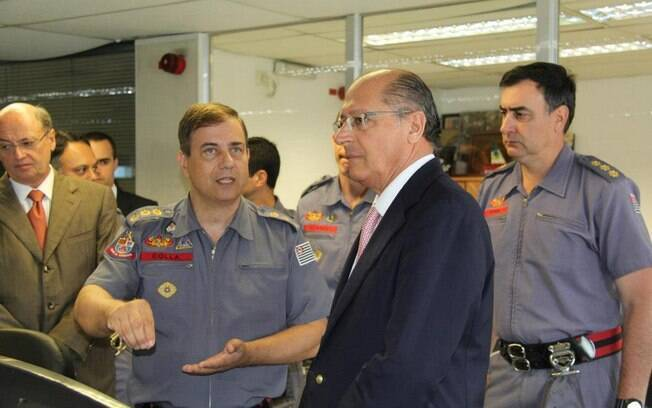 Governador do Estado visitou a sede do Corpo de Bombeiros, nesta semana