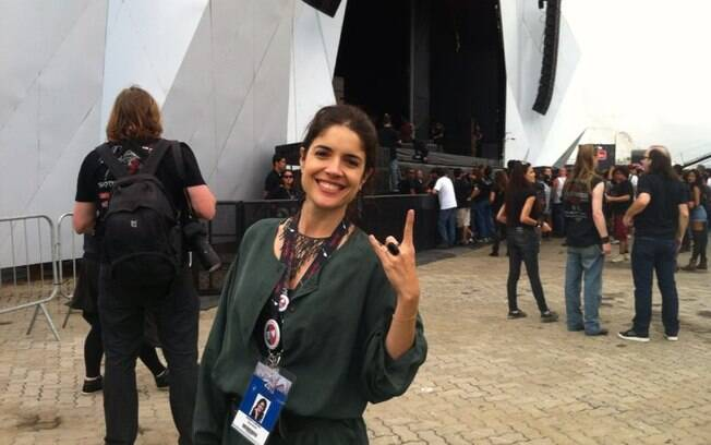 Roberta Medina, organizadora do Rock in Rio