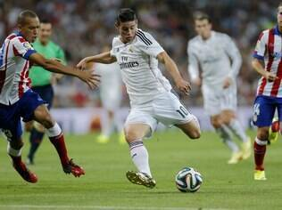 James Rodriguez, meia do Real Madrid