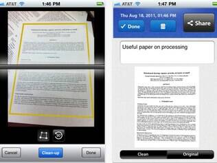 Aplicativo Scan Pages para iPhone