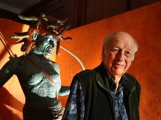 O norte-americano Ray Harryhausen