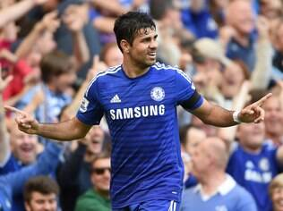 Diego Costa, atacante do Chelsea
