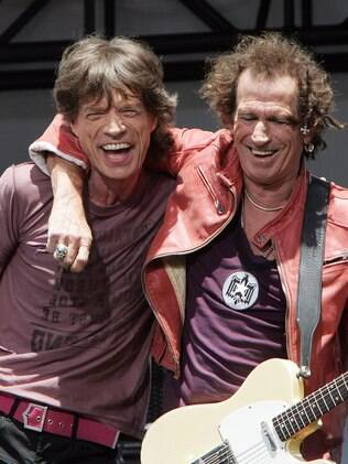 Jagger e Richards
