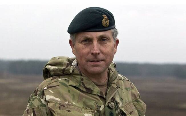 General sir Nick Carter, chefe do Estado-Maior do Exército britânico