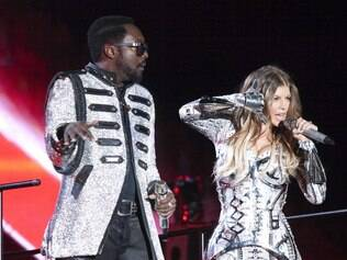 Will.I.am e Fergie, do Black Eyed Peas