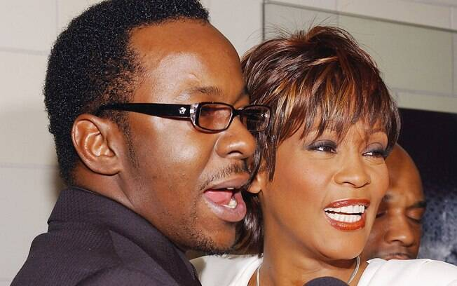 Whitney Houston e Bobby Brown, em foto de 2004