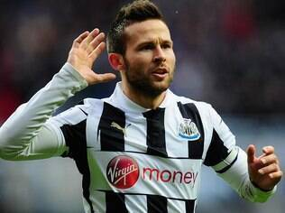 Francês Cabaye está nos planos do Arsenal