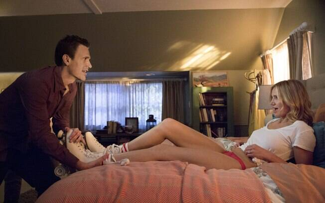 Jason Segel e Cameron Diaz em 'Sex Tape'