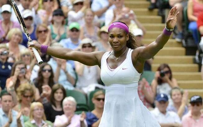 Serena Williams é uma das favoritas ao Grand Slam britânico