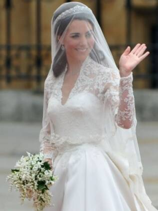 Kate Middleton: casada e feliz