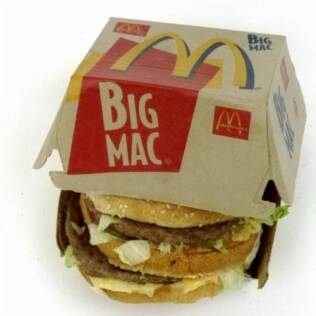 Big Mac, o carro chefe do McDonald's