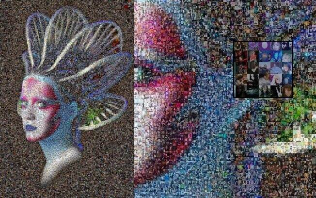 Mosaico para campanha do novo single de Katy Perry