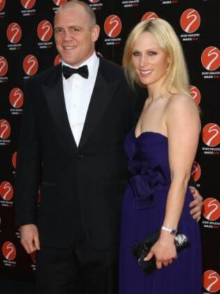O casal Mike Tindall e Zara Phillips
