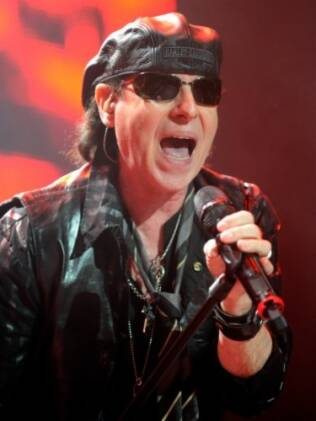 Klaus Meine, vocalista do Scorpions