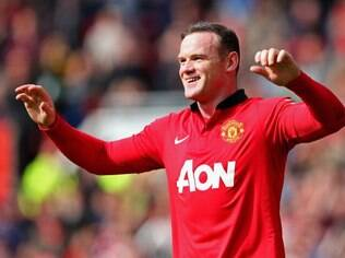 Rooney, atacante do Manchester United