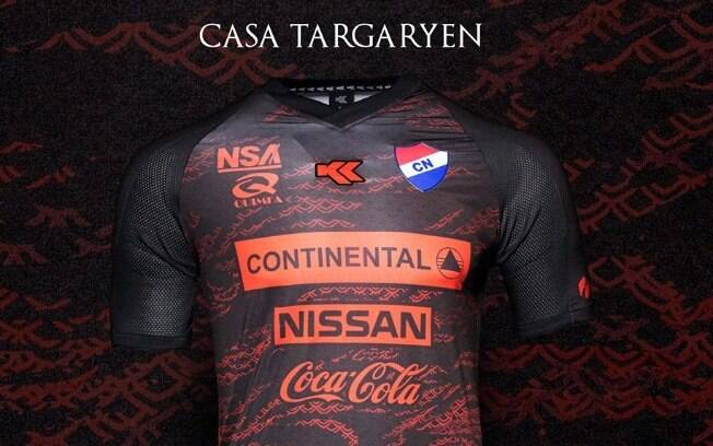 Modelo de uniforme do Nacional inspirado em Game Of Thrones