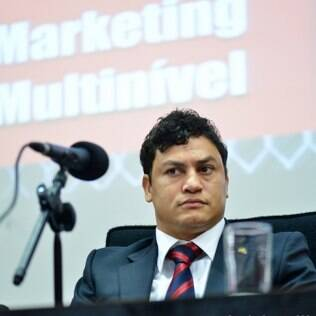 Popó em evento sobre marketing multinível