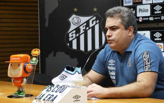 Orlando Rollo, presidente do Santos