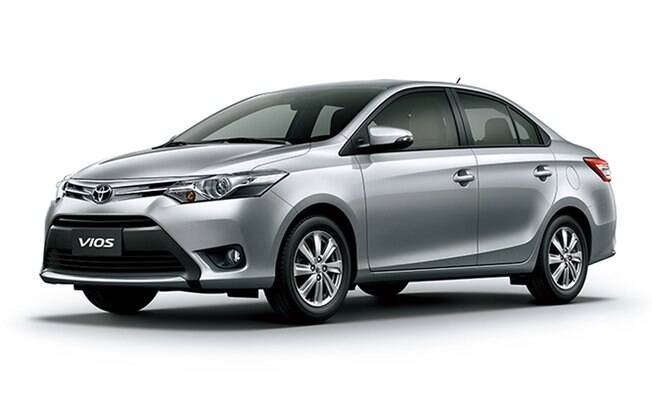 Rival do Honda City, o Toyota Vios era esperado para 2015, junto com o hatch Yaris