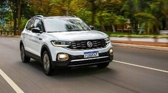 VW lança T-Cross 2021 com a mesma central multimídia do Nivus