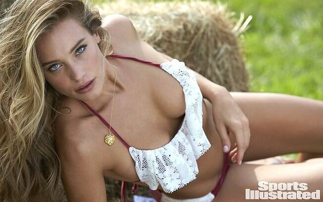 Hannah Davis é a capa da edição 2015 da Sports Illustrated Swimsuit