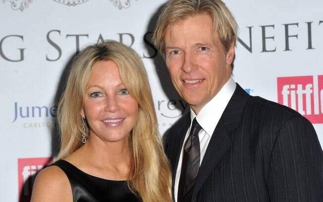 Heather Locklear e Jack Wagner ficaram noivos