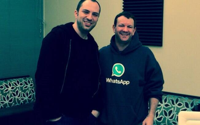 Koum e Acton, os criadores do Whatsapp