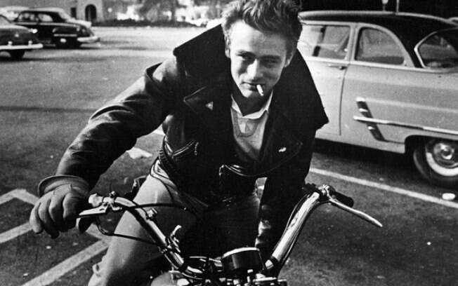 James Dean usou e abusou das jaquetas de couro no cinema