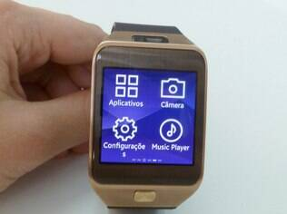 Visual do sistema Tizen é bem similar ao Android usado no Galaxy Gear