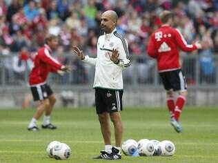 Guardiola, técnico do Bayern de Munique