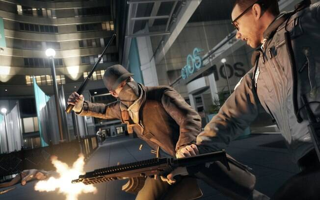 Cenas do gameplay de Watch Dogs