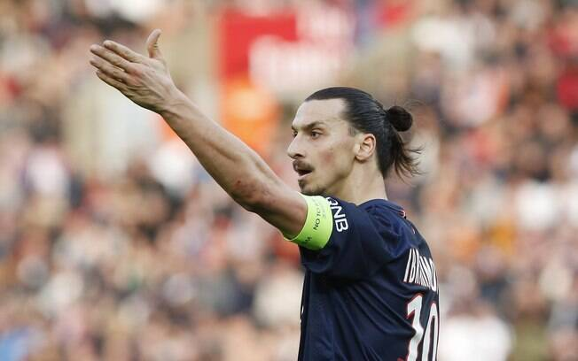 Ibrahimovic, atacante do PSG