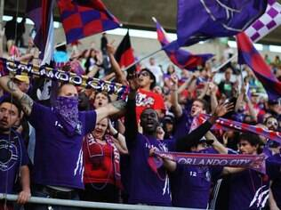 Torcida do Orlando no Florida Citrus Bowl