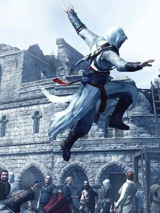 Cenas do game Assassin's Creed