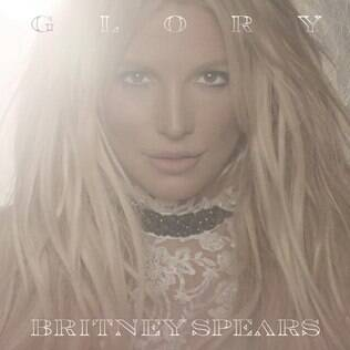 Britney Spears  na capa do álbum