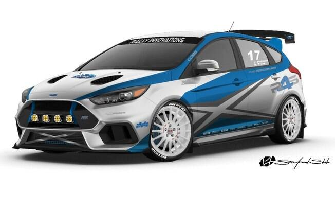 Ford Focus RS Rally Revival