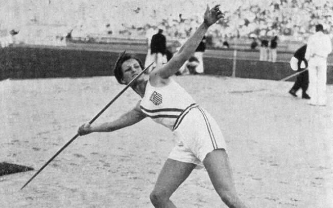 A superatleta Mildred Babe Didrikson