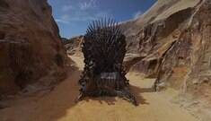 "Trono de ferro de ""Game of Thrones"" é encontrado no Brasil"