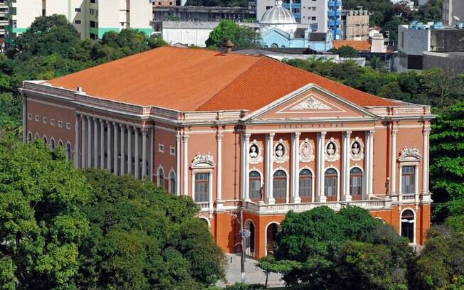 Theatro da Paz ostenta toda a riqueza do período áureo do Ciclo da Borracha