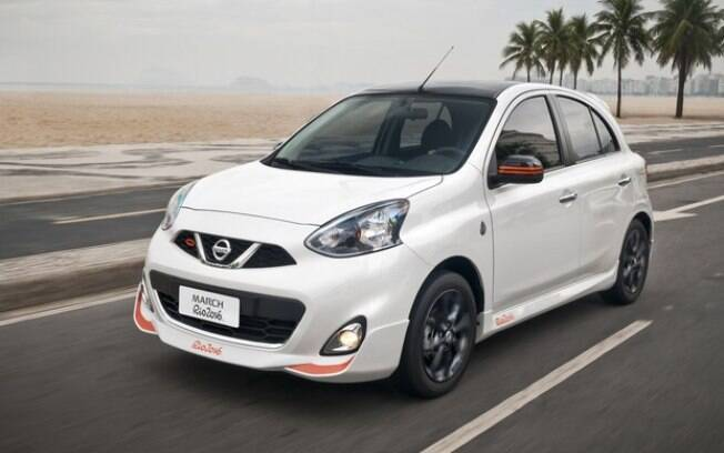 Nissan March Rio 2016