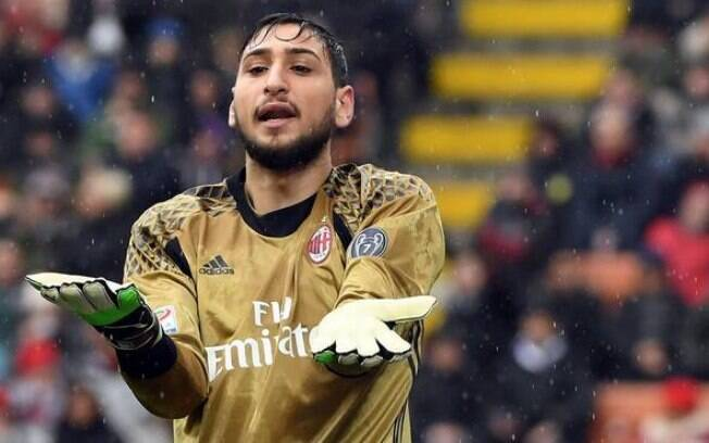 Gianluigi Donnarumma é goleiro do Milan