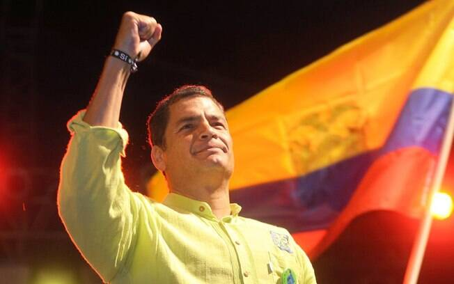 Rafael Correa, ex-presidente do Equador