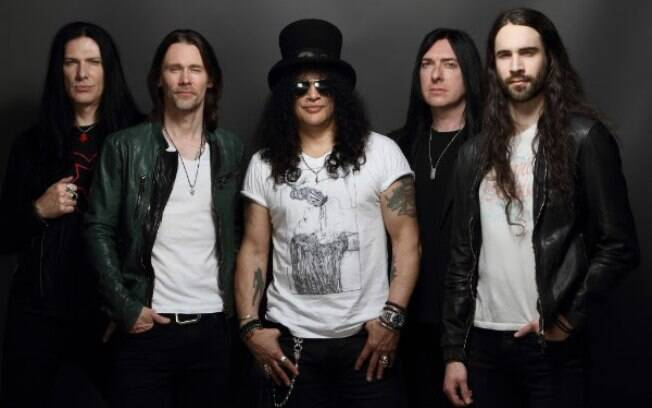 Slash  e Myles Kennedy & The Conspirators farão 8 shows no Brasil