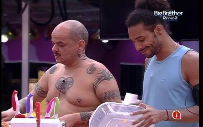 Brothers projetam primeira berlinda do BBB12