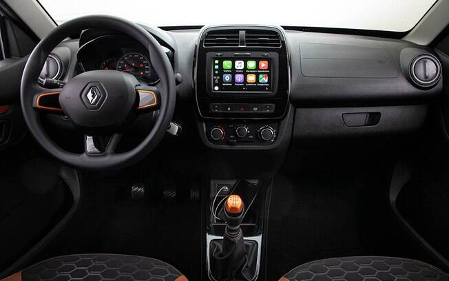 Painel do Renault Kwid Outsider