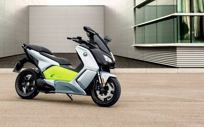 BMW C Evolution prata