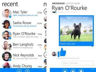 Aplicativo Facebook Messenger já chegou ao Windows Phone 8