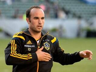 Landon Donovan, atacante do Los Angeles Galaxy
